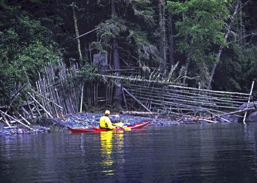 Caribou Trap Slate Islands Lake Superior, Ontario