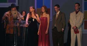 Cherryholmes Family at the Ryman Auditorium in Nashville, Tennessee