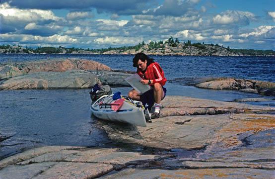 1983 trip thru the North Channel - Lake Huron, Ontario