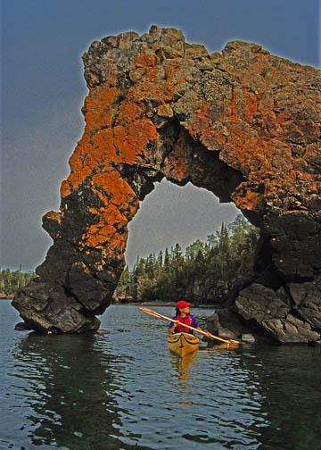 Sea Lion rock formation - Lake Superior, Ontario
